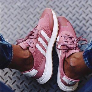 Adidas original pink sneakers